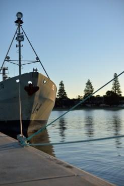fishing boat symmetry