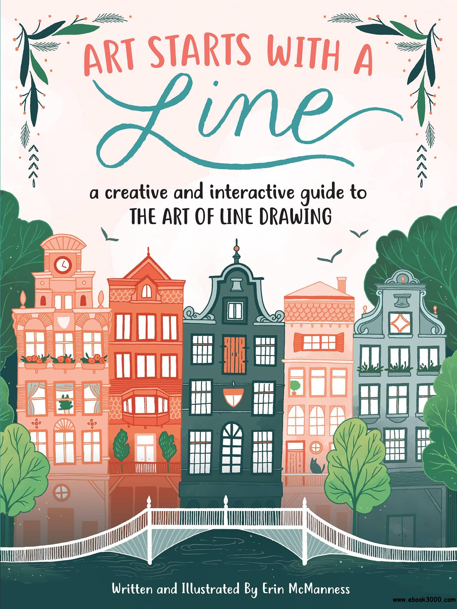 Art Starts With A Line A Creative And Interactive Guide
