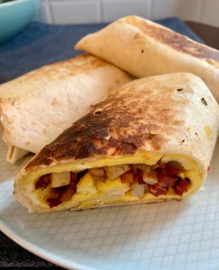 Corned Beef Hash Burrito