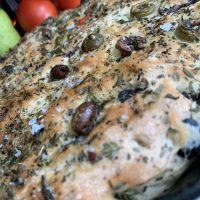Favorite FoodieBooks Friday! No Knead Olive Skillet Bread