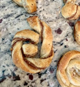 Nutella Pecan Puff Pastry SnarcMark