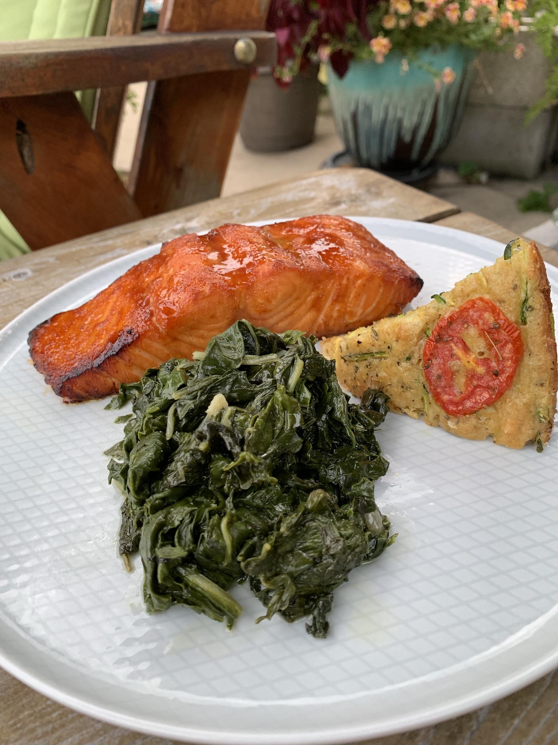 Salmon Sunday Sweet-n-spicy glaze