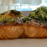 Sweet Spicy Salmon Glaze