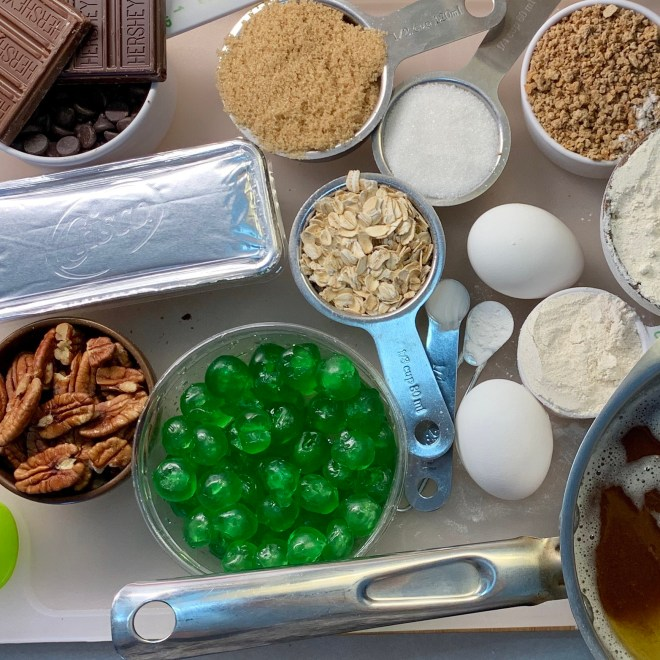 Chocolate Chip Breakfast Cookie ingredients
