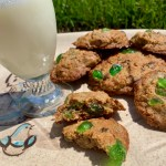 Ascansio's Chocolate Chip Cookies with Candied Cherries