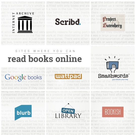 Sites where you can #read #books online