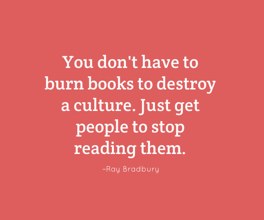 Image result for first they burn books, than people