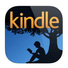 Kindle for iPhone iPad logo