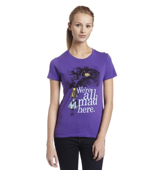 Alice In Wonderland Junior T-shirt