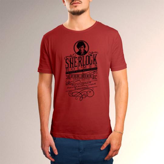 Sherlock Holmes for Hire T-shirt