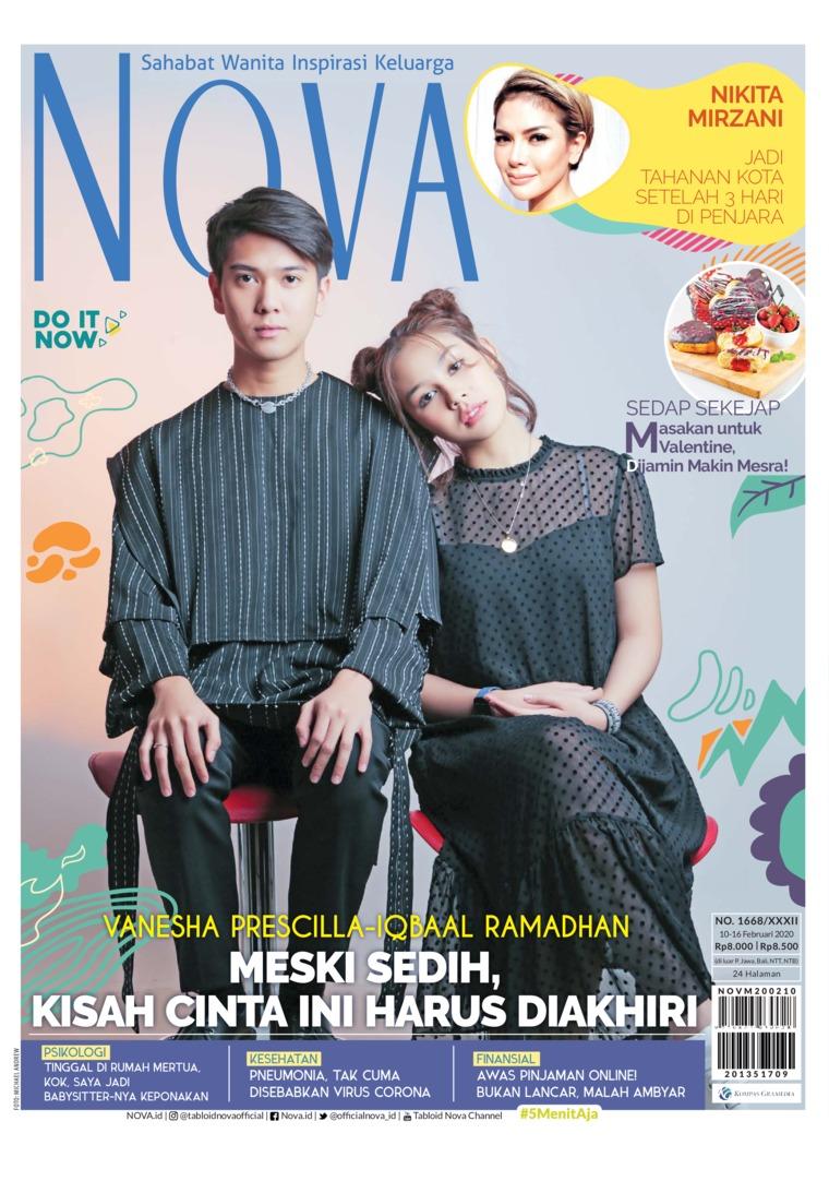 Jual Majalah Nova Ed 1668 Februari 2020 Gramedia Digital Indonesia