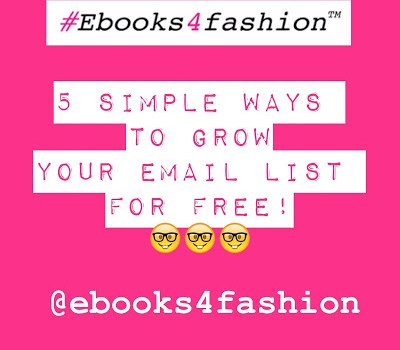 5 Simple Ways to Grow your Email List for Free!:)