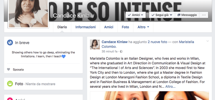 An interview with me and Candace Kinlaw where we talk about fashion business, struggles, failures and of course success..