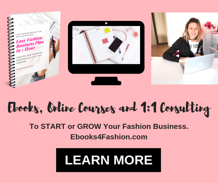 Ebooks, Online Courses to Start or Grow Fashion Business