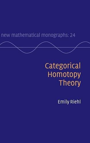 Large book cover: Categorical Homotopy Theory