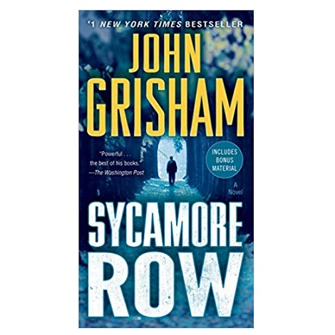 Sycamore Row By John Grisham Pdf Download Ebookscart