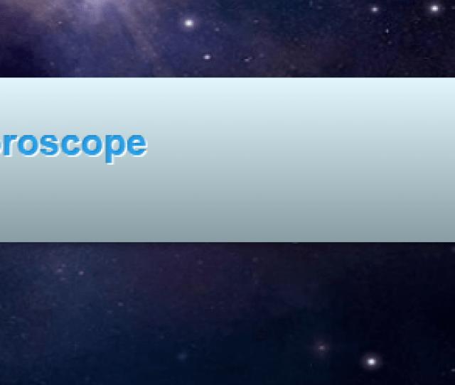 How Do I Read My Horoscope On My Profile