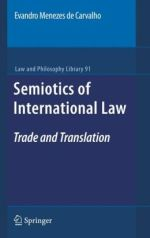 Semiotics of International Law: Trade and Translation