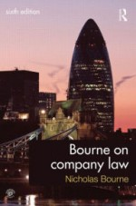 Bourne on Company Law / Edition 6