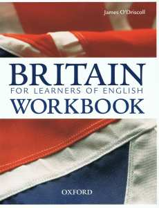 Oxford - Britain for English Language Learners' Workbook