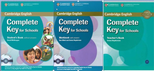 [Series]Cambridge English Complete Key for Schools: Student's Book, Workbook, Teacher's Book