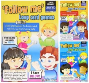 [Series] Follow Me Loop Card Games English, lower, middle, upper primary