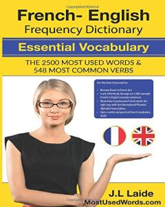 French English Frequency Dictionary - Essential Vocabulary