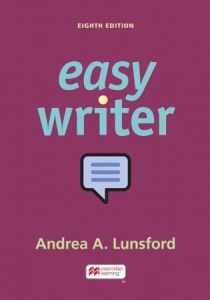 EasyWriter, 8th Edition