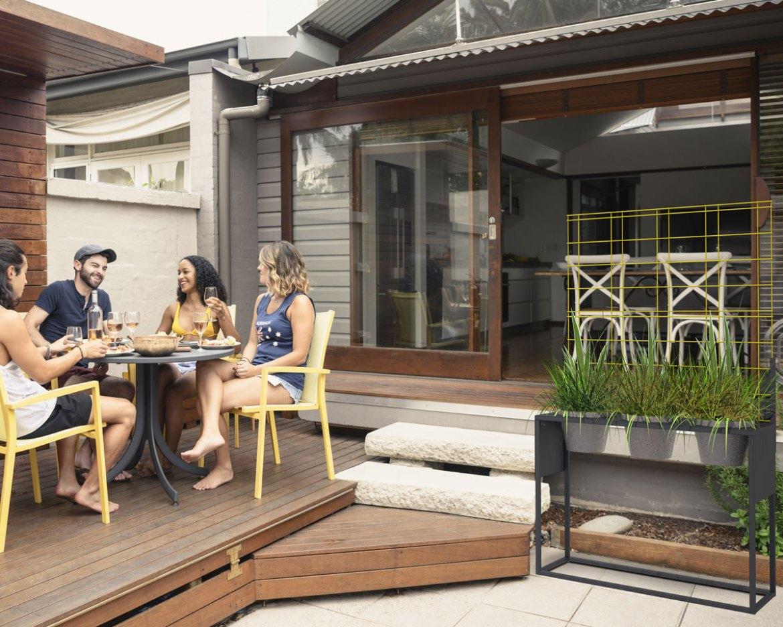 Podium TriPots pour l'aménagement de la terrasse