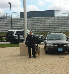 Coordinated Police K9 Search Conducted at EBJSHS