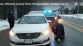 Police officers assist East Bridgewater woman on way to chemotherapy