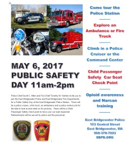 Public Safety Day May 6, 2017