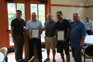 Sergeant Steven Brown and Officer Carlos Oliveira Retire