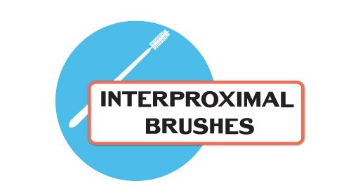 flossing with interproximal brushes