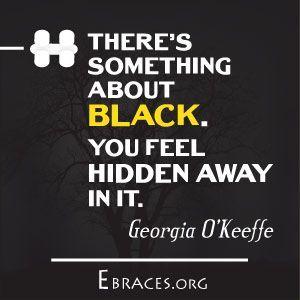 black color quotes
