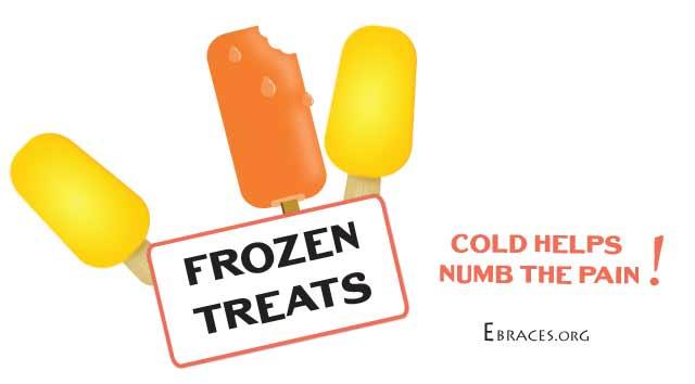 frozen treats for braces