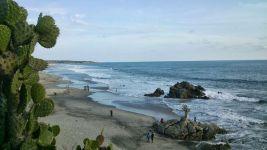 Praia de Zicatela, México - Foto de Ana Gomez