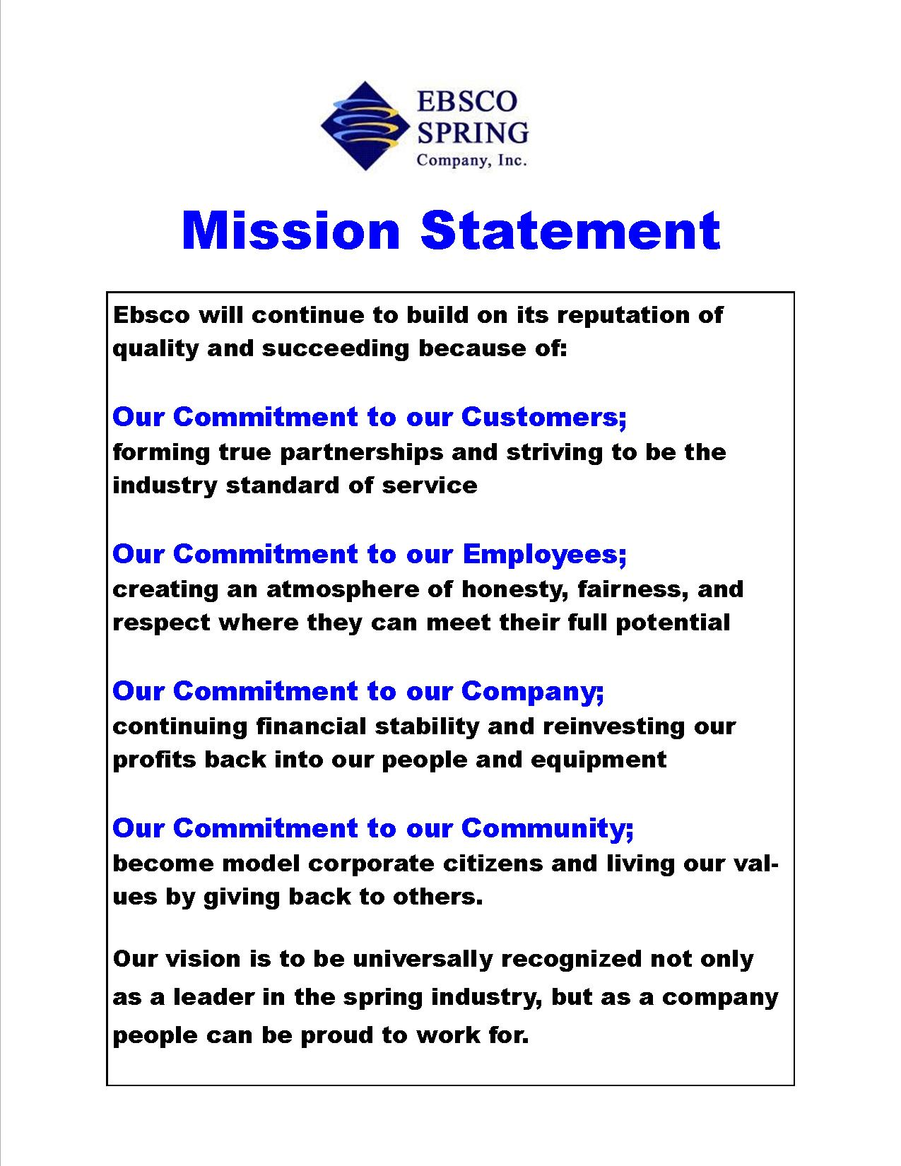 MISSION STATEMENTS: IMPORTANCE, CHALLENGE, AND RECOMMENDATIONS FOR  DEVELOPMENT (Abridged) Source: Business U2026