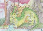 Water Wielder by Little Leviathan Art