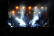 Really cool show with Evergrey. Spot the EBS rig with Johan Niemann on the left side.