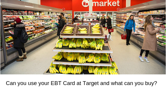 """""""Can I use my EBT card at Target"""""""