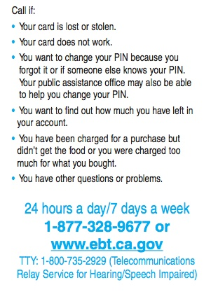 Food Stamps Customer Service Number Texas