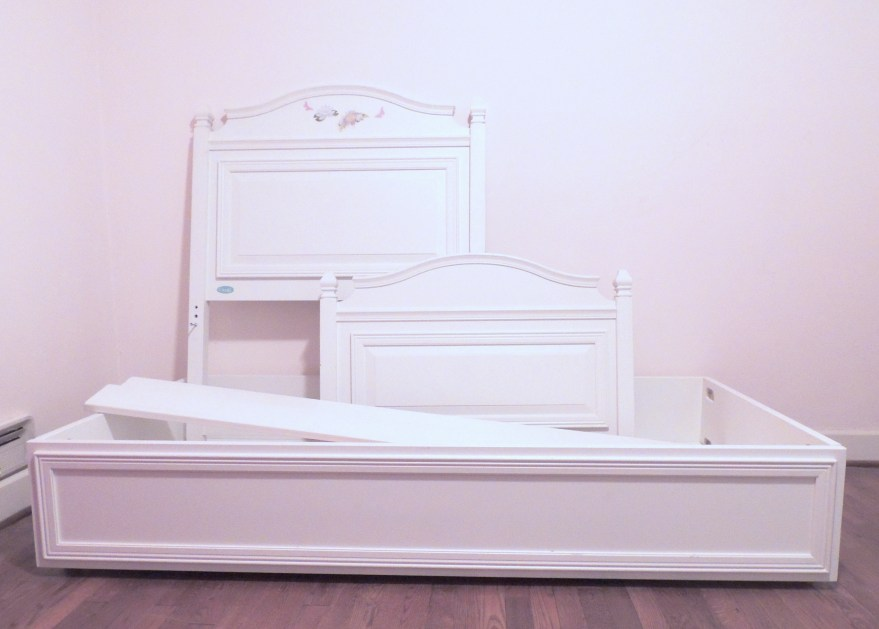 brooke collection twin trundle bed by cafe kid