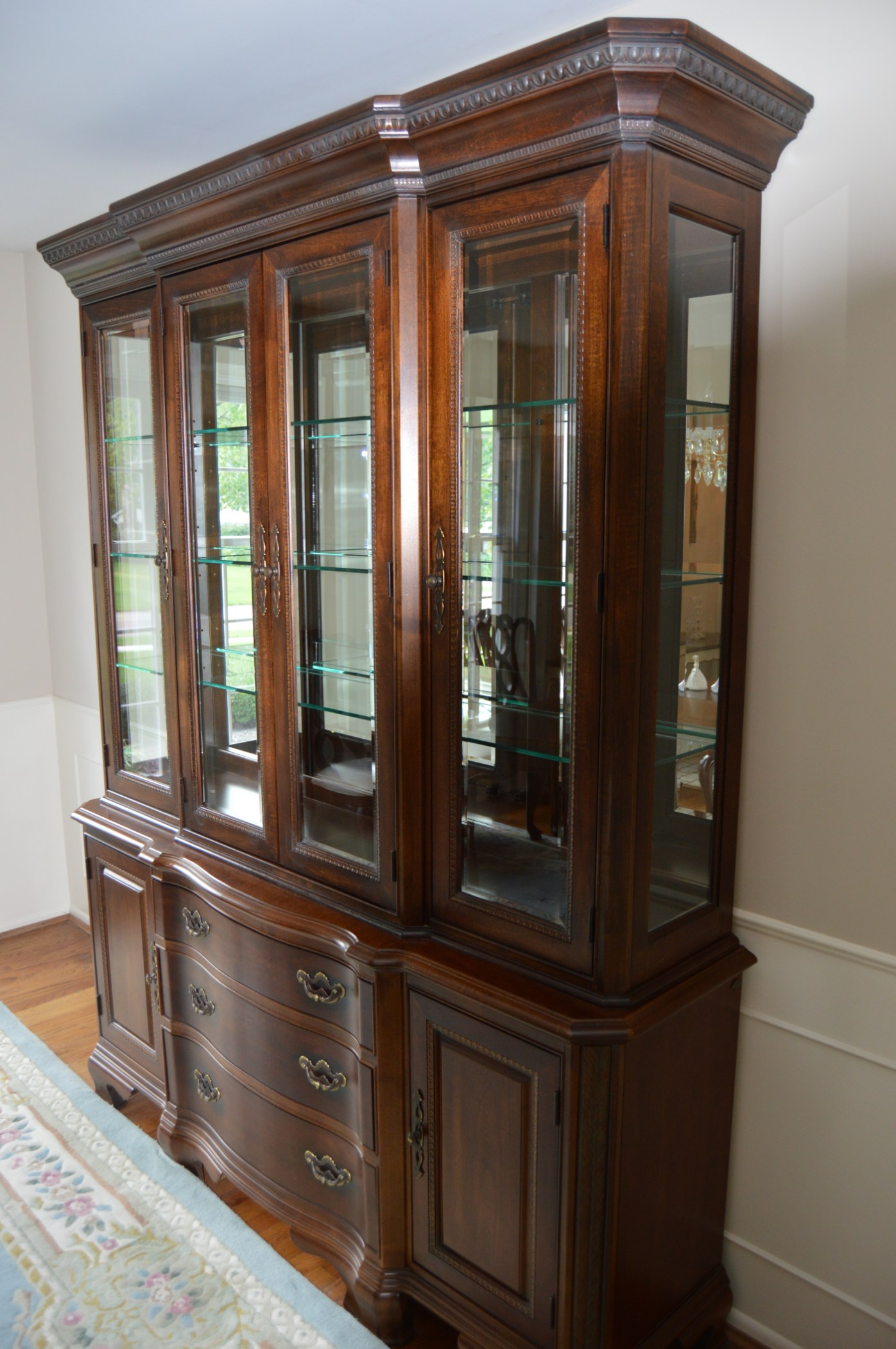 Formal Dining Room China Cabinet By American Drew EBTH