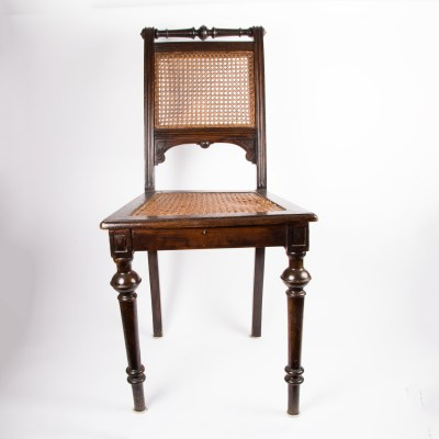 Antique Gothic Revival Oak North Wind Hall Chairs EBTH