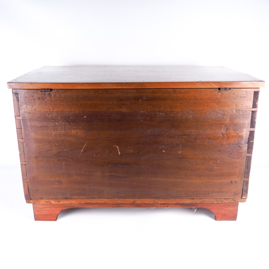 Antique Southern Meal Or Sugar Chest EBTH