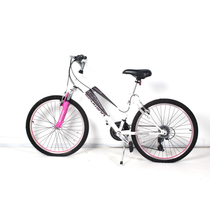 938108e29d7 Pink Schwinn Ladies Bicycles With Flowers | Gardening: Flower and ...