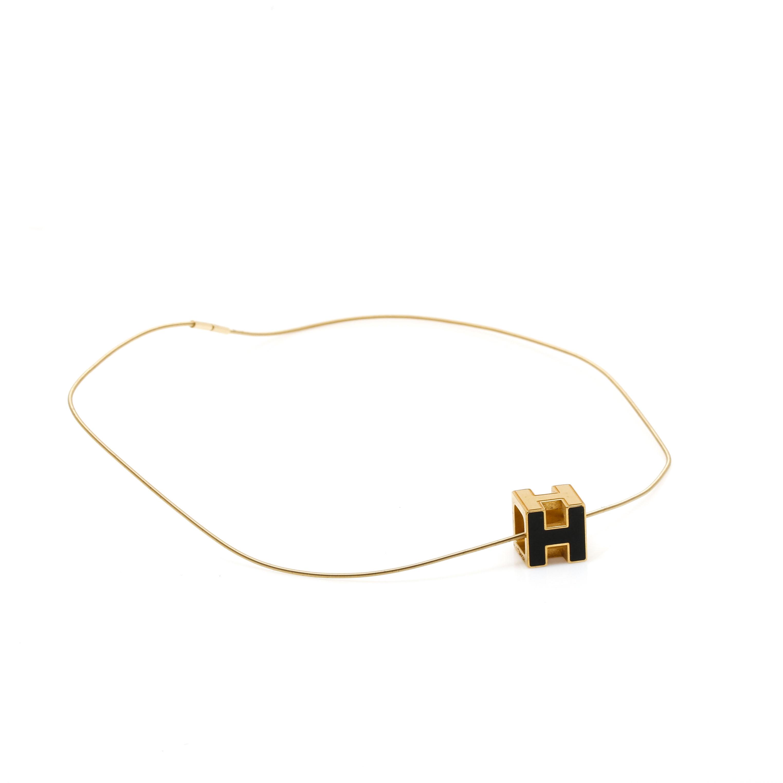 Hermès Cage Dh Pendant Necklace