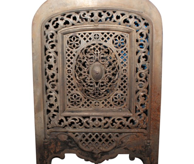 Antique Fireplace Summer Cover