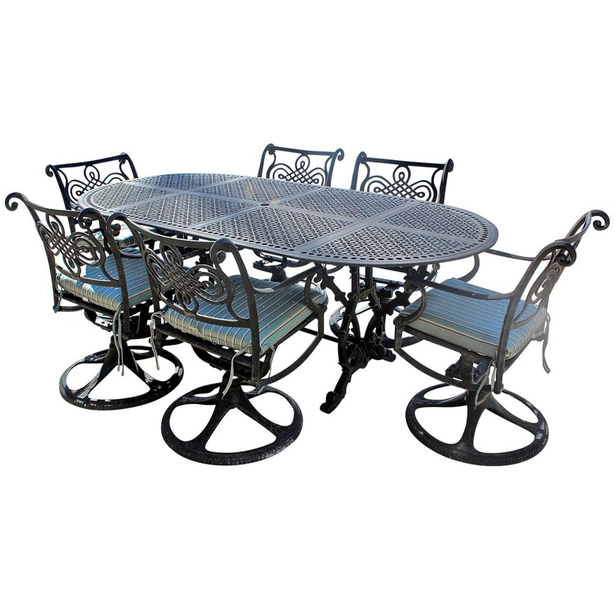 cast classics monte cristo patio dining table and chairs